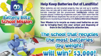 Brentwood Park has taken up the Battery Blitz School Mission Challenge. Drop your batteries off at Brentwood Park.This October, is Waste Reduction Week Earth Rangers and Call2Recycle have issued the […]
